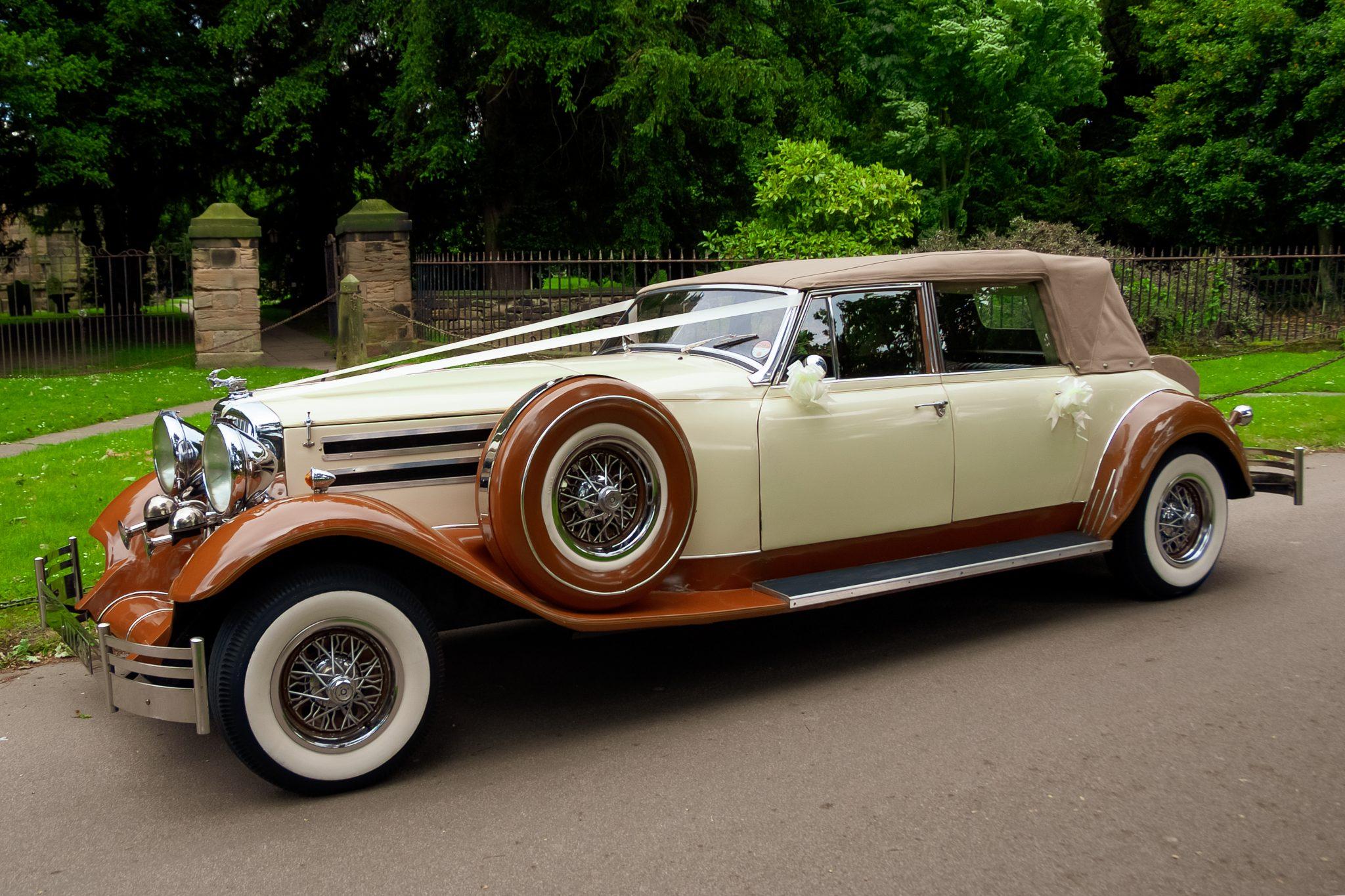 Virago DeVille Eternity Wedding Car Hire West Yorkshire Header Image